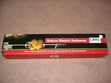 GRILL ZONE ELECTRIC ROTISSERIE HEAVY DUTY MOTOR -NEW IN BOX True Value Product