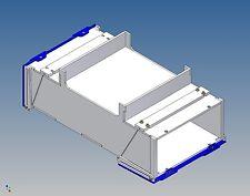 Pb100-palettenstaubox for Carson Trailer - 100/90 L X 46 H x 180 B