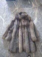 Pelliccia volpe argentata Vintage