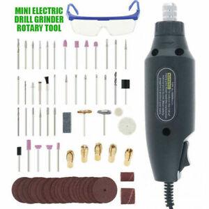 73pcs Hobby Craft 16000rpm Mini Drill Grinder Multi Rotary Tool Set Durable
