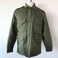 VINTAGE MILITARY STYLE HUNTING JACKET M-52 M52 SIZE SMALL 80's