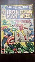 Tales of Suspense #60 Marvel 1964 - 3.0 GD/VG 2nd Hawkeye