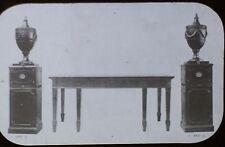 18th c. English Tables, Pedestals, and Urns, Magic Lantern Glass Slide