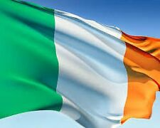NEW IRELAND HAPPY ST PATRICKS DAY IRISH GREEN WHITE ORANGE FLAG PADDY FULL SIZE