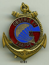 Insigne parachutiste , Commando GUILLAUME