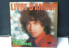 ALAIN DELORME Livre d amour ... 58000