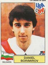 N°256 DANIEL BORIMIROV BULGARIA PANINI WORLD CUP 1994 STICKER VIGNETTE 94