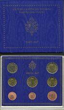 VATICANO 2007 set 8 PEZZI pièces EURO PAPA  Benedetto XVI Vatikan  RATZINGER