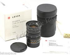 *Rare* Leica TRI-ELMAR-M1:4/28-35-50mm ASPH Boxed Engraved Mistake