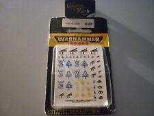 WARHAMMER 40000 - Decalcos Eldars OOP! *NEW*