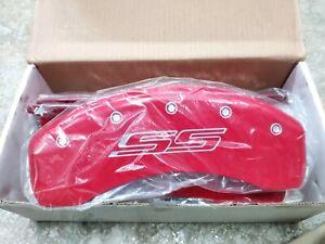 MGP 14036SSS5RD Disc Brake Caliper Cover-SS Caliper Covers fits 2010 Camaro Chev