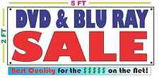 DVD & BLU RAY SALE Banner Sign NEW Larger Size Best Price for The $$$$ Pawn Shop