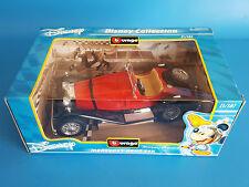 Disney Collection Mercedes-Benz SSK Burago Die Cast 1/18