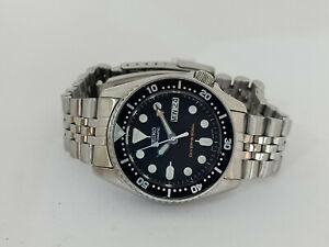 PRE OWNED SEIKO 7S26-0030 SKX013 AUTOMATIC MENS WATCH SN 620443