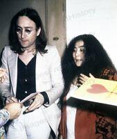 8x10 Print John Lennon Yoko Ono #5502081