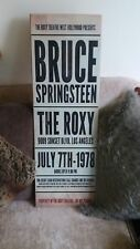 Bruce Springsteen The Roxy Music Concert WOODEN SIGN POSTER WALL PLAQUE HANDMADE