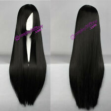 Black wig long wig General wig natural wig cosplay wig women's wig