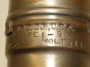XX Rare!! 1910's G.E. Co. Type I-8!!