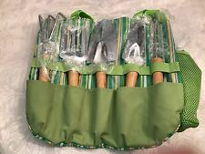 Garden Plant Tool Set With 7 Tools, Gloves And Organizer Tote kit