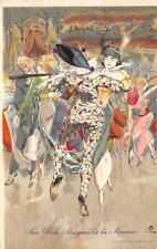 9714 BELGIO AUX BALS MASQUE DE LA MONNAIE LE BON MARCHE' ILLUSTRATORE OST ALFRED