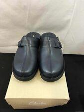 Clark's Women Clogs Navy Blue Size 9XW