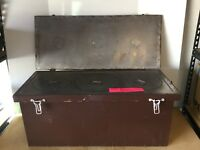 WWI Insulated Hot Meal Serving Chest.