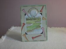 Carol's Rose Garden - Happy Birthday - A beautiful golf course is on cover