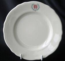 Unknown uMc Logo Restaurant Ware Plate Homer Laughlin