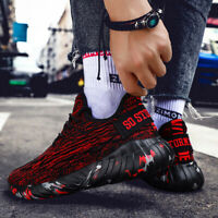 Mens Running Breathable Athletic Sneakers Shoes Plus Size 14 13 12 11 10 9 8 7