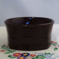 Fiestaware Chocolate Square Bowl Fiesta Retired Brown 19 oz Bowl