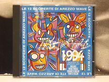 AREZZO WAVE 1994 - LE 12 SCOPERTE DI AREZZO WAVE CD COME NUOVO NON SIGILLATO