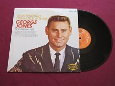 GEORGE JONES Walk Through This World With Me MUSICOR ms 3119 VG/VG STEREO