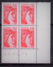 TIMBRE N° 1974 NEUF XX - COIN DATE DU 28-6-79 - TTB - SABINE DE GANDON