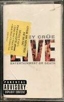 Motley Crue ‎– Live: Entertainment Or Death Cassette 1999 Mötley ‎– 63985-78034