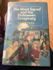 The Ghost Squad And The Halloween Conspiracy By E. W. Hildick Ex Lib 1st Ed HCDJ