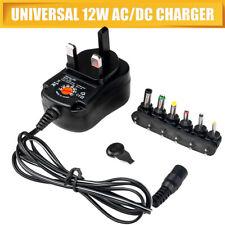 More details for 1pcs mains ac/dc power adaptor supply plug charger 3v 4.5v 6v 7.5v 9v 12v new