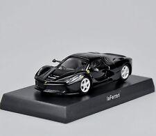 Kyosho  Ferrari Laferrari Model Toys 1/64 Black Minicar Diecast Car Vehicles