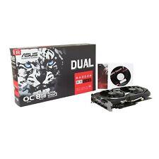 ASUS AMD Radeon RX580 8GB GDDR5 Graphics Card (DUAL-RX580-O8G) OC Edition