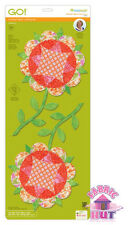 Accuquilt GO! Fabric Cutter Die Harrison Rose by Eleanor Burns Quilting 55403