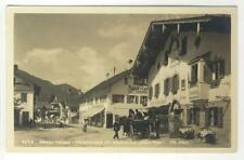AK Oberammergau, Hauptstrasse, Gasthof zur Alten Post, Foto-AK 1920