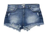 Womens H&M Blue Denim Shorts Size 16/L2