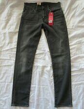LEVIS 511 Men's 29 X 32 Slim Performance Stretch Jeans BLACK Distress Wash NWT