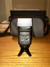 Canon 320EX Flash with Sto-Fen Diffuser and Foot