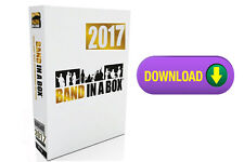 PG Music Band in a Box Pro 2017 PC Composition  Software