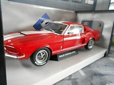 FORD Mustang GT500 GT 500 Shelby Muscle Car V8 rot red 1967 Solido NEU 1:18
