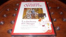 Le Grandi Operette  LA DUCHESSA DI CHICAGO Dvd ..... Nuovo