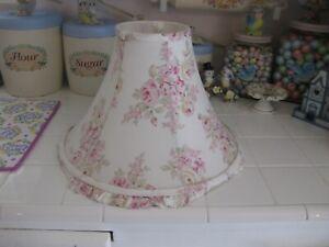 Rachel Ashwell Simply Shabby Chic Blush Beauty Rose Ruffled Lamp Shade