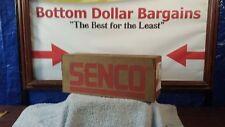 "Box of 10,000 Senco 1"" Crown Staples P11BAB 3/4"" Length Class 1 Galvanized"