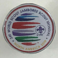 2019 World Scout Jamboree OFFICIAL SCOUTS SOUVENIR METAL PIN Patch (RED)