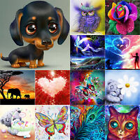 Full Drill 5D DIY Diamond Painting Embroidery Cross Stitch Kit Mosaic Home Decor